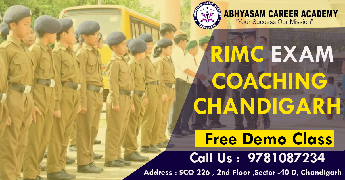 RIMC Coaching in Chandigarh
