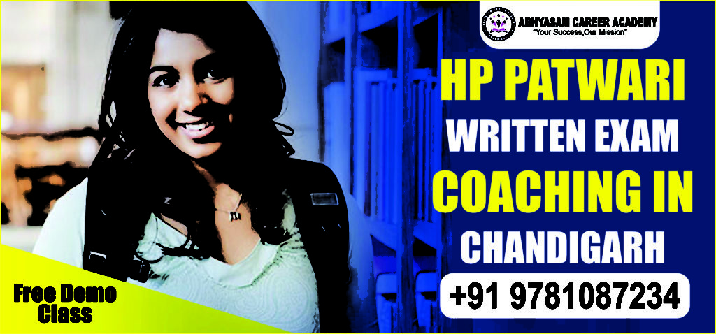 hp patwari coaching in Chandigarh