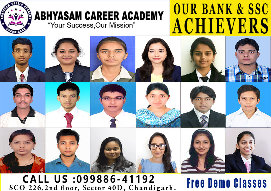 IBPS CLERK COACHING IN Chandigarh