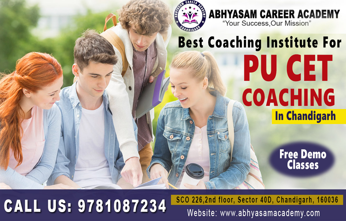 PU CET Coaching in Chandigarh