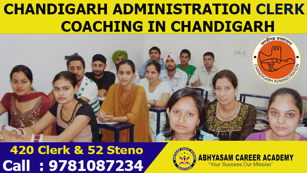 Chandigarh Administration Clerk Exam Coaching in Chandigarh