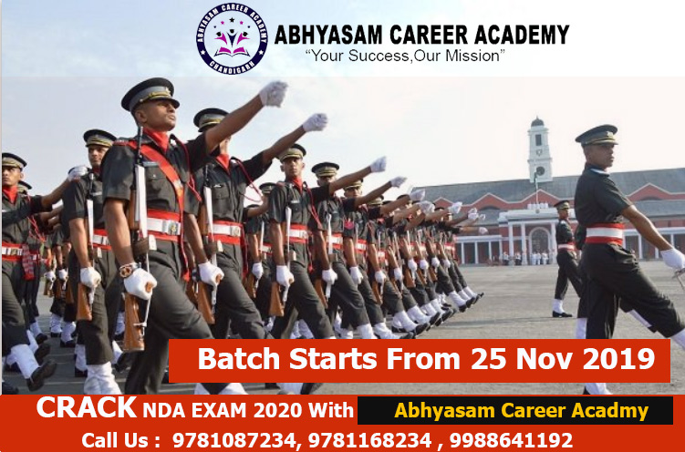 NDA Exam Coaching in Chandigarh